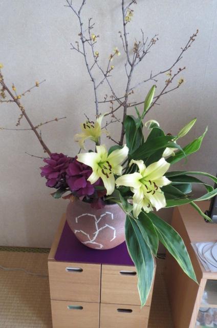 良い感じに開いた花々