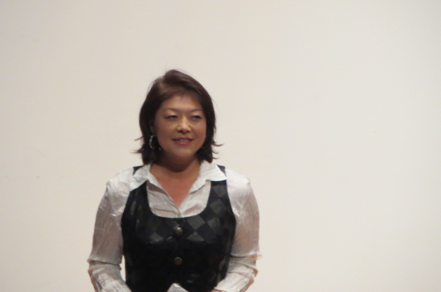 2月9日 東本願寺に三上智恵監督の講演を聴く