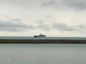辺野古 大型船2