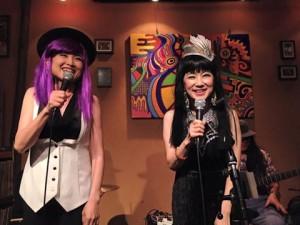 みきちゃんとチョチョさんライブ。
