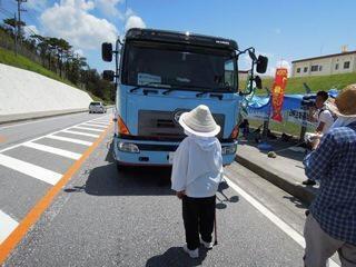映画・「戦場ぬ止み」を観た加藤登紀子さん。