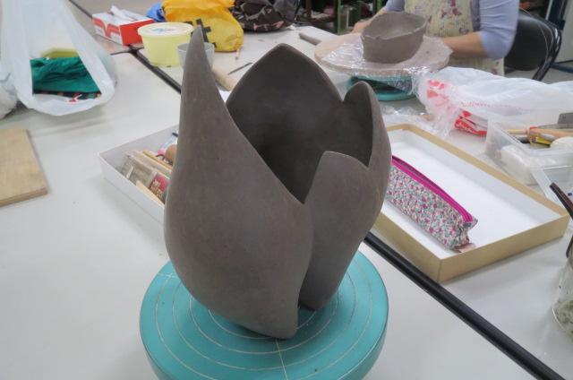陶芸教室・Tさんの作品がすてき!