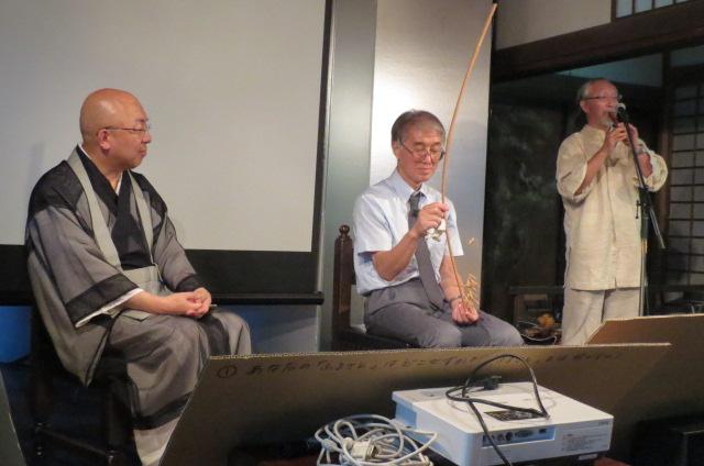 法然院にて小出裕章さんの講演を聞く