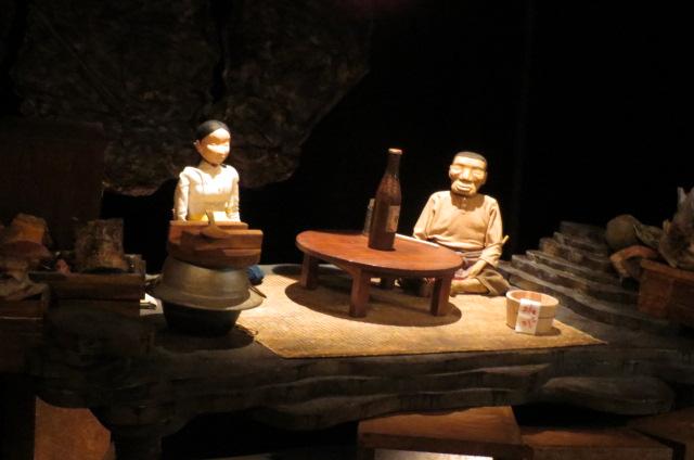人形劇団・むすび座公演・「父と暮せば」の公演