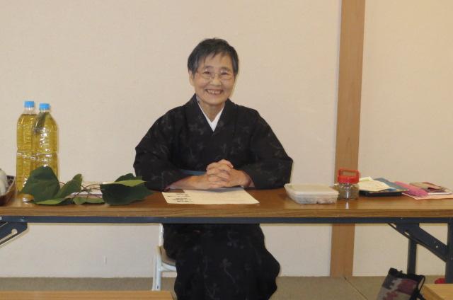 山崎万理さんの健康カフェ講演・無事終了。