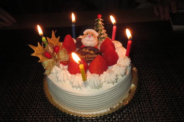 Sちゃんのご一家とクリスマス会と鴨鍋!