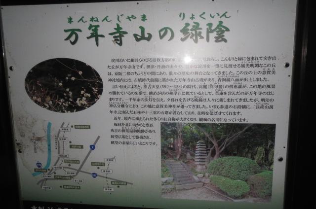 枚方散歩・万年寺・意賀美神社(おかみ神社)