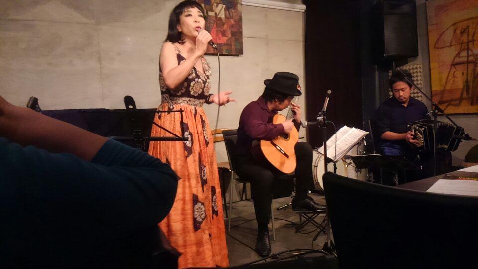 タンゴ・グレリオ&ゆうじゅさんのライブ!