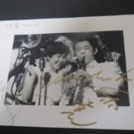 上海バンステイング!写真!サインありがとう!